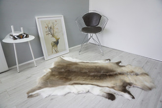 Genuine Scandinavian Reindeer Pelt Rug  Hide | Animal Decor RE 521
