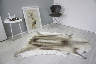 Genuine Scandinavian Reindeer Pelt Rug  Hide | Animal Decor RE 522