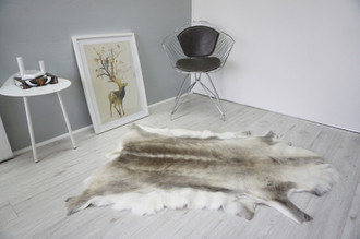 Genuine Scandinavian Reindeer Pelt Rug  Hide | Animal Decor RE 524