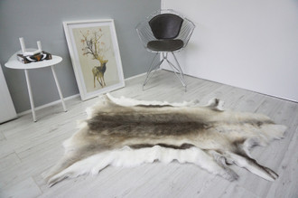 Genuine Scandinavian Reindeer Pelt Rug  Hide | Animal Decor RE 526