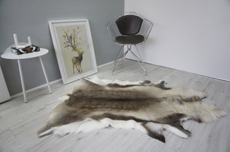 Genuine Scandinavian Reindeer Pelt Rug  Hide | Animal Decor RE 531