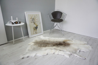 Genuine Scandinavian Reindeer Pelt Rug  Hide | Animal Decor RE 535