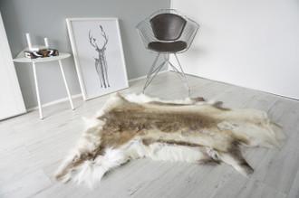 Genuine Scandinavian Reindeer Pelt Rug | Reindeer Rug | Reindeer Pelt | Reindeer Hide | Scandinavian Reindeer | Animal Decor RE 536