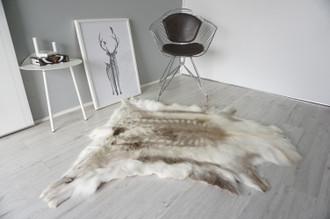 Genuine Scandinavian Reindeer Pelt Rug | Reindeer Rug | Reindeer Pelt | Reindeer Hide | Scandinavian Reindeer | Animal Decor RE 557