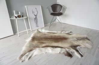 Genuine Scandinavian Reindeer Pelt Rug | Reindeer Rug | Reindeer Pelt | Reindeer Hide | Scandinavian Reindeer | Animal Decor RE 558