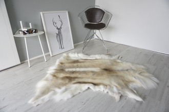 Genuine Scandinavian Reindeer Pelt Rug | Reindeer Rug | Reindeer Pelt | Reindeer Hide | Scandinavian Reindeer | Animal Decor RE 565