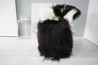 Genuine Icelandic Sheepskin Rug   Sheepskin Hide   Icelandic Sheepskin   Long Wool Rug   Natural Colour   Rare Breed SI 543