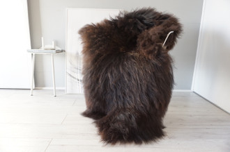 Genuine Icelandic Sheepskin Rug | Sheepskin Hide | Icelandic Sheepskin | Long Wool Rug | Natural Colour | Rare Breed SI 553