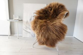 Genuine Icelandic Sheepskin Rug | Sheepskin Hide | Icelandic Sheepskin | Long Wool Rug | Natural Colour | Rare Breed SI 554