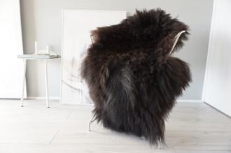 Genuine Icelandic Sheepskin Rug | Sheepskin Hide | Icelandic Sheepskin | Long Wool Rug | Natural Colour | Rare Breed SI 563