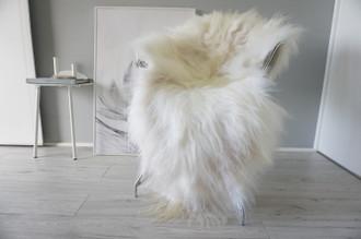 Genuine Icelandic Sheepskin Rug | Sheepskin Hide | Icelandic Sheepskin | Long Wool Rug | Natural Colour | Rare Breed SI 567