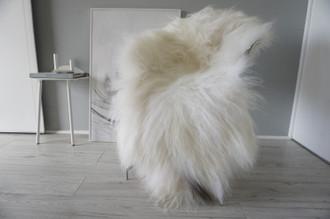 Genuine Icelandic Sheepskin Rug | Sheepskin Hide | Icelandic Sheepskin | Long Wool Rug | Natural Colour | Rare Breed SI 569