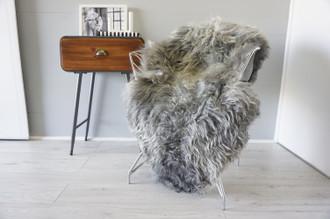 Genuine Scandinavian Pelssau Sheepskin Rug | Unique Norway Sheepskin Hide | Scandinavian Sheepskin | Extremely Soft Silky Wool Rug |  SPR15