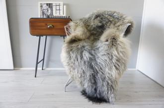 Genuine Scandinavian Pelssau Sheepskin Rug | Unique Norway Sheepskin Hide | Scandinavian Sheepskin | Extremely Soft Silky Wool Rug |  SPR18