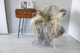 Genuine Scandinavian Pelssau Sheepskin Rug | Unique Norway Sheepskin Hide | Scandinavian Sheepskin | Extremely Soft Silky Wool Rug |  SPR22