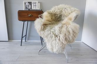 Genuine Scandinavian Pelssau Sheepskin Rug | Unique Norway Sheepskin Hide | Scandinavian Sheepskin | Extremely Soft Silky Wool Rug |  SPR26