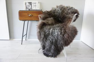 Genuine Scandinavian Pelssau Sheepskin Rug | Unique Norway Sheepskin Hide | Scandinavian Sheepskin | Extremely Soft Silky Wool Rug |  SPR4