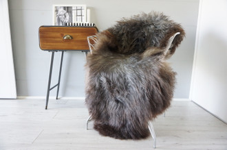 Genuine Scandinavian Pelssau Sheepskin Rug | Unique Norway Sheepskin Hide | Scandinavian Sheepskin | Extremely Soft Silky Wool Rug |  SPR5