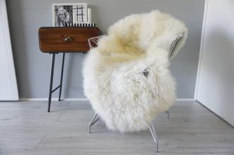 Genuine Scandinavian Pelssau Sheepskin Rug | Unique Norway Sheepskin Hide | Scandinavian Sheepskin | Extremely Soft Silky Wool Rug |  SPR6