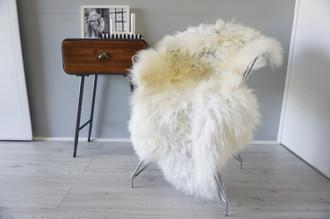 Genuine Scandinavian Pelssau Sheepskin Rug | Unique Norway Sheepskin Hide | Scandinavian Sheepskin | Extremely Soft Silky Wool Rug |  SPR7
