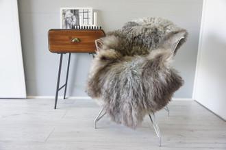 Genuine Scandinavian Pelssau Sheepskin Rug | Unique Norway Sheepskin Hide | Scandinavian Sheepskin | Extremely Soft Silky Wool Rug |  SPR13