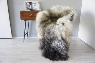 Genuine Scandinavian Pelssau Sheepskin Rug | Unique Norway Sheepskin Hide | Scandinavian Sheepskin | Extremely Soft Silky Wool Rug |  SPR14