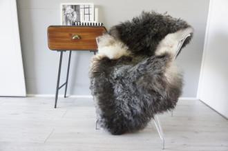 Genuine Scandinavian Pelssau Sheepskin Rug | Unique Norway Sheepskin Hide | Scandinavian Sheepskin | Extremely Soft Silky Wool Rug |  SPR16