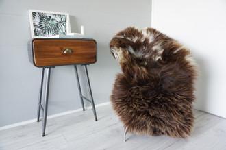 Genuine Rare Unique Ethically Sourced Single Natural Sheepskin Rug   Sheepskin Hide   Animal Hide Rug   Soft Dense Wool   Home Decor   SNR41