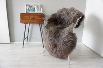 Genuine Rare Unique Ethically Sourced Single Natural Sheepskin Rug   Sheepskin Hide   Animal Hide Rug   Soft Dense Wool   Home Decor   SNR44