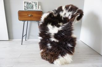 Genuine Rare Unique Ethically Sourced Single Natural Sheepskin Rug   Sheepskin Hide   Animal Hide Rug   Soft Dense Wool   Home Decor   SNR49