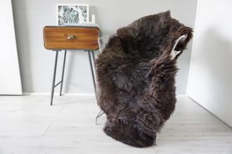 Genuine Rare Unique Ethically Sourced Single Natural Sheepskin Rug   Sheepskin Hide   Soft Dense Wool   Home Decor   SNR51