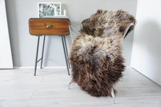 Genuine Rare Unique Ethically Sourced Single Natural Sheepskin Rug   Sheepskin Hide   Animal Hide Rug   Soft Dense Wool   Home Decor   SNR58