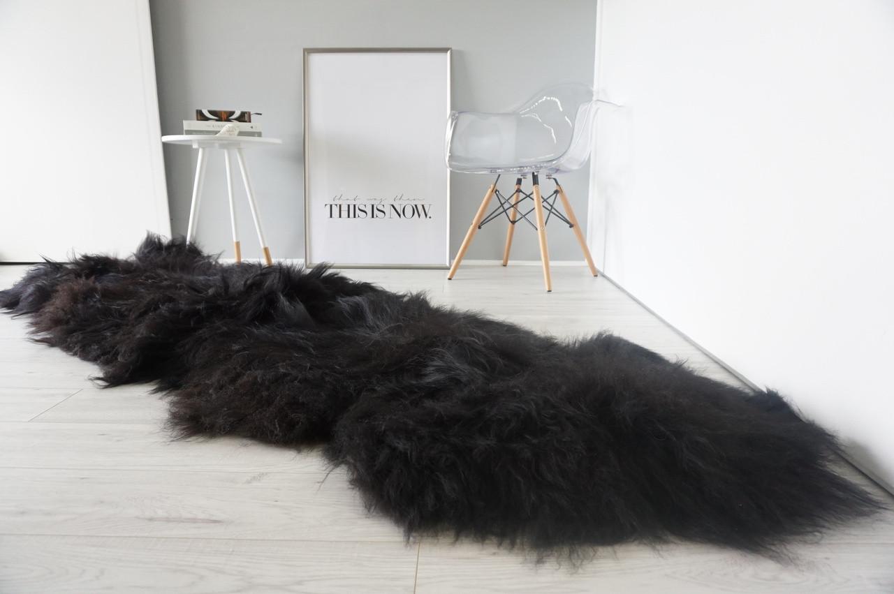 Amazing Genuine Rare Breed Double Icelandic Sheepskin
