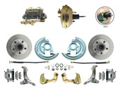 "DBK6267-GM-233  - 1962-1967 Nova Power Disc Brake Conversion Kit w/ 9"" 3 Stud Booster"