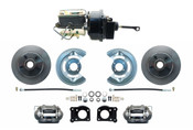 DBK6473-FD-250  - 1964.5-1966 Ford Mustang Front Power Disc Brake Conversion