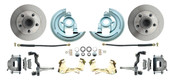DBK6472  - 1964-1972 GM A Body (Chevelle, GTO, Cutlass) Stock Height Front Disc Brake Kit