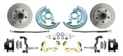 DBK6472-B  - 1964-1972 GM A Body (Chevelle, GTO, Cutlass) Stock Height Front Disc Brake Kit Black Calipers