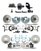 DBK6272834A-45-MPDC-201  - 1962-1972 A Body Front & Rear Power Disc Brake Conversion Kit (5x4.5) Bolt Pattern