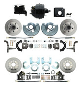 DBK6272834-BCK8536-2 1966-70 B Body 71-74 E Body O.E.M. Style Front & Rear Disc Brake Kit & Booster Conversion w/ Casting Numbers