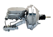 "GM-353 - GM A, F, X 9"" Chrome Power Brake Booster Conversion Kit (Disc/ Disc)"