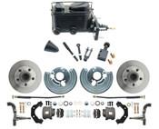 DBK6272-MP-110 1962-72 Mopar B & E Body Standard Manual Master Front Disc Brake Conversion Kit