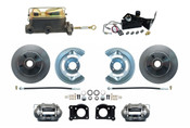 DBK6473-MC7161-A  - 1964-1973 Manual Mustang Disc Brake Conversion Kit
