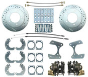 "DBK9TRKLX- 9"" High Performance Ford Truck Rear End Disc Brake Kit"