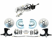 "DBK6370-CT-304 1967-1970 Chevy Truck Disc Brake Conversion Kit 6 Lug Chevy Truck 8"" Dual Chrome Power Booster Conversion Kit  (Disc/Drum)"