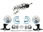 "DBK6370-5-CT-304 1967-1970 Chevy Truck Disc Brake Conversion Kit 5 Lug Chevy Truck 8"" Dual Chrome Power Booster Conversion Kit  (Disc/Drum)"