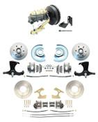"DBK63701012TRK-CT-213 1963-1966 Chevy Truck Power Front & Rear Disc Brake Kit 9"" Single Cast Iron Master"