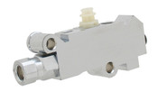 PV2C  -  GM Disc/Drum Proportioning Valve - Chrome