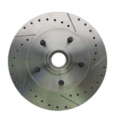 5314LX  - 1962-1972 Mopar A, B, & E Body Vehicle Drilled/ Slotted Large Bolt Pattern Front Rotor (Driver Side)