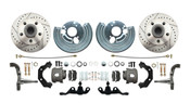 DBK6272A-45LX - 1962-1972 Mopar A Body High Performance Disc Brake Conversion Kit