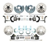 DBK6272834LX - 1962-1972 Mopar B&E Body High Performance Disc Brake Conversion Kit